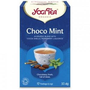 YOGI TEA CHOCO MINT ΒΙΟ 37,4ΓΡ Ροφήματα Βιολογικά Προϊόντα - biovlastos.gr