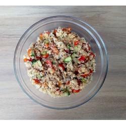 Καλοκαιρινή σαλάτα με λευκή ή τρίχρωμη κινόα ΒιοΒλαστός