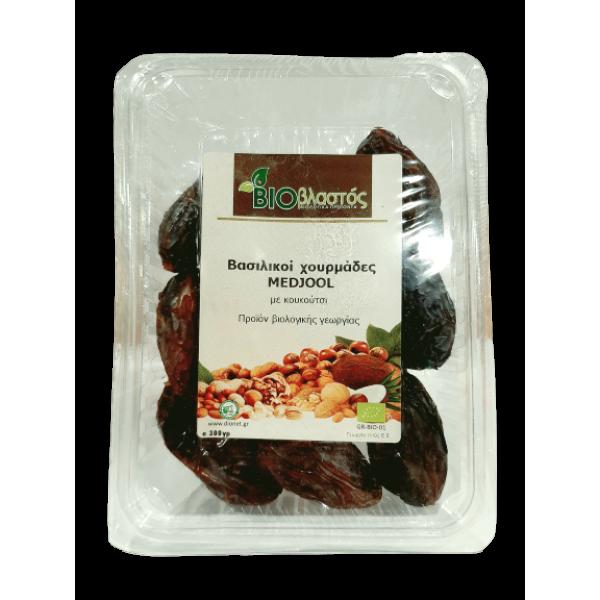 Χουρμάδες βασιλικοί - MEDJOOL ΒΙΟ 300γρ  Ξηρά Φρούτα Βιολογικά Προϊόντα - biovlastos.gr