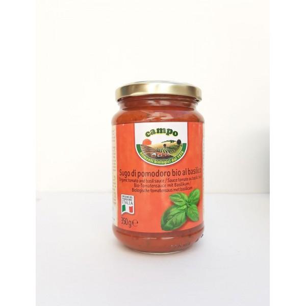 Τοματοπολτός με βασιλικό 350γρ Σάλτσες  Βιολογικά Προϊόντα - biovlastos.gr