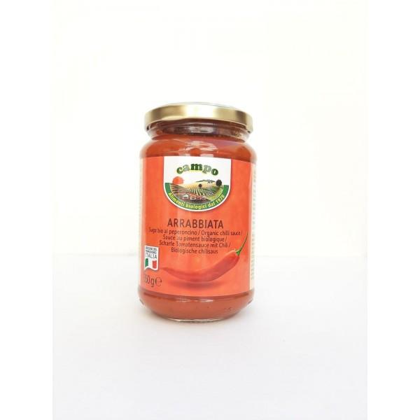 Σάλτσα Arabbiata 350γρ Σάλτσες  Βιολογικά Προϊόντα - biovlastos.gr