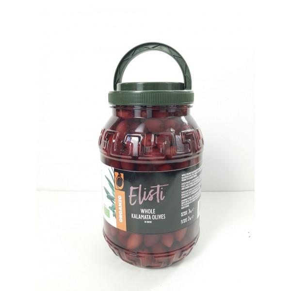 Ελιές καλαμών σε άλμη PET ΒΙΟ 2kg Ελιές Βιολογικά Προϊόντα - biovlastos.gr
