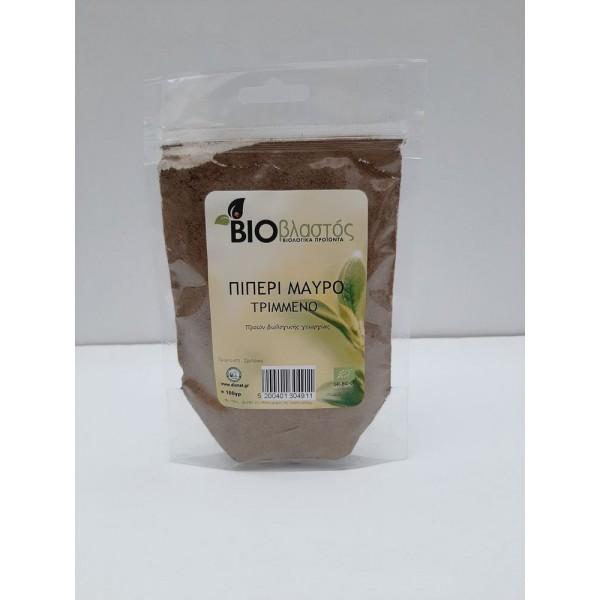 Πιπέρι Μαύρο (Σκόνη) ΒΙΟ σακουλάκι 100γρ Μπαχαρικά Βιολογικά Προϊόντα - biovlastos.gr