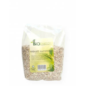 Νιφάδες Φαγόπυρου BIO 500γρ Νιφάδες Δημητριακών Βιολογικά Προϊόντα - biovlastos.gr