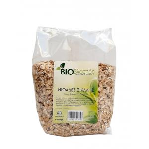 Νιφάδες Σίκαλης ΒΙΟ 500γρ Νιφάδες Δημητριακών Βιολογικά Προϊόντα - biovlastos.gr