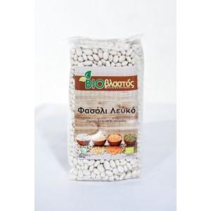 Φασόλι Λευκό Ψιλό BIO 500γρ Όσπρια Βιολογικά Προϊόντα - biovlastos.gr