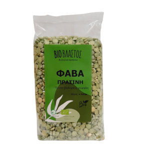 Φάβα Πράσινη ( Από Μπιζέλι ) ΒΙΟ 500γρ Όσπρια Βιολογικά Προϊόντα - biovlastos.gr