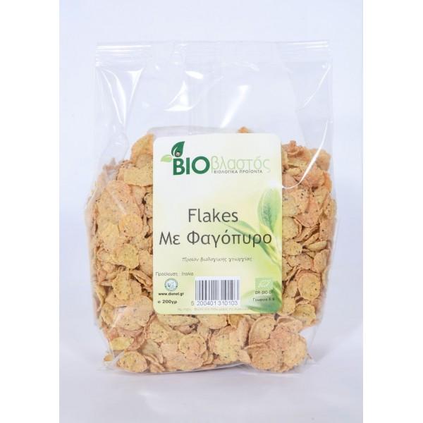 Φλέικς με φαγόπυρο ΒΙΟ 200γρ Πρωινό Βιολογικά Προϊόντα - biovlastos.gr