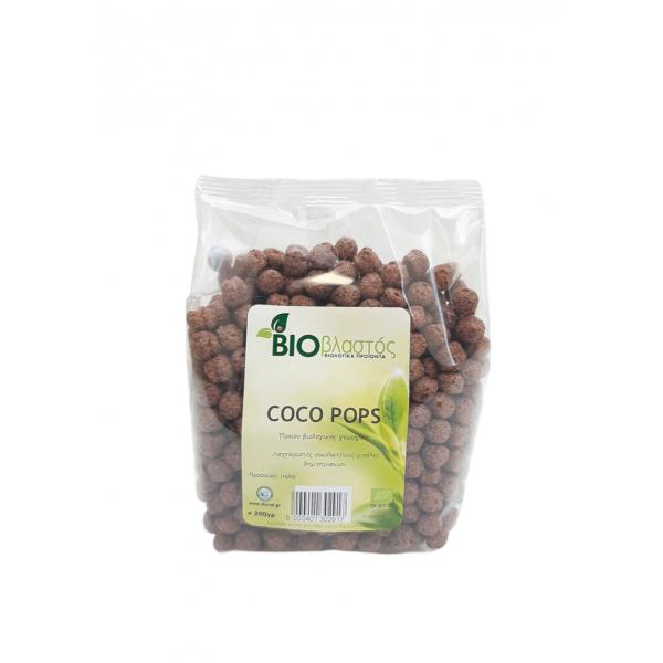 Κοκο Ποπς Σοκολάτας ΒΙΟ 200γρ Πρωινό Βιολογικά Προϊόντα - biovlastos.gr