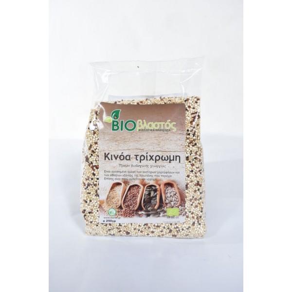Κινόα Τρίχρωμη ΒΙΟ 250γρ Προϊόντα Δημητριακών Βιολογικά Προϊόντα - biovlastos.gr