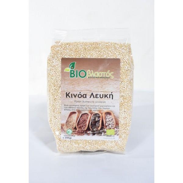 Κινόα Λευκή BIO 250γρ Προϊόντα Δημητριακών Βιολογικά Προϊόντα - biovlastos.gr
