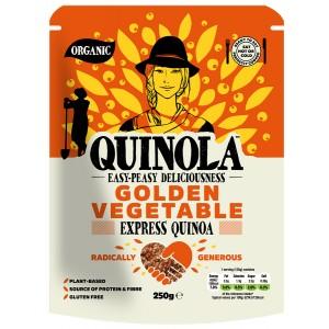 Quinola BIO Golden Vegetables Κινόα 250γρ
