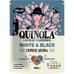 Quinola BIO Κινόα Λευκή και Μαύρη 250γρ