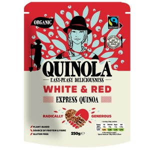 Quinola BIO Κινόα Λευκή και Κόκκινη 250γρ