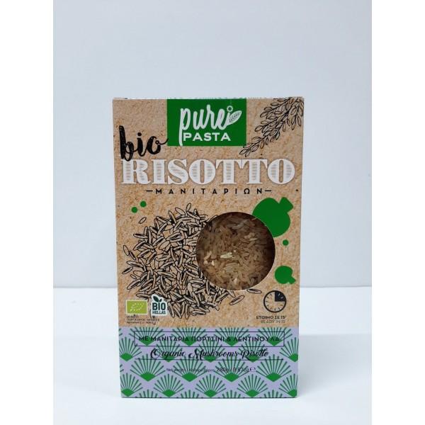 Ριζότο μανιταριών ΒΙΟ 280gr Προϊόντα Pure Pasta Βιολογικά Προϊόντα - biovlastos.gr