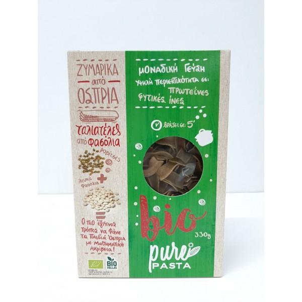 Ταλιατέλες απο φασόλια ΒΙΟ 330gr Προϊόντα Pure Pasta Βιολογικά Προϊόντα - biovlastos.gr