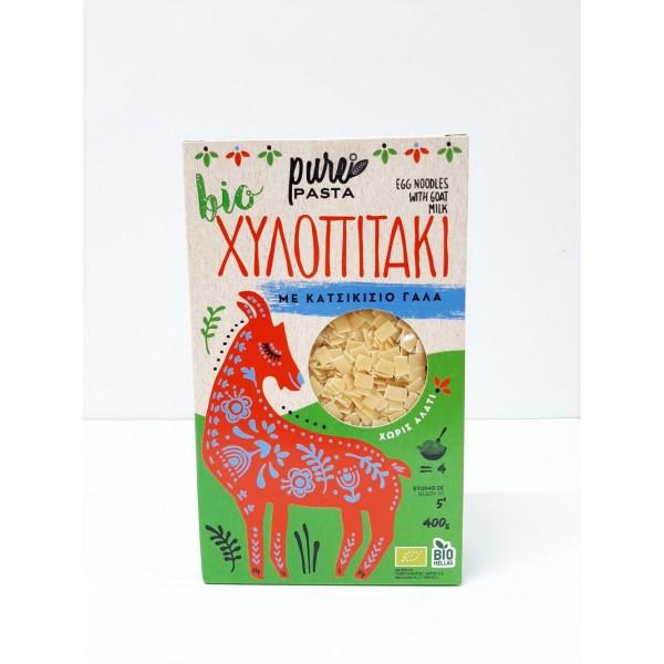 Χυλοπιτάκι απο κατσικίσιο γάλα ΒΙΟ 400gr Προϊόντα Pure Pasta Βιολογικά Προϊόντα - biovlastos.gr