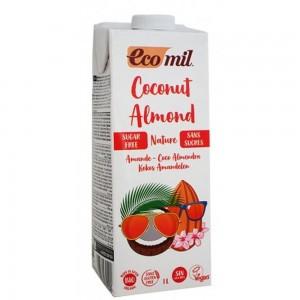Γάλα Καρύδας Με Αμύγδαλο ΒΙΟ 1lt Ροφήματα Βιολογικά Προϊόντα - biovlastos.gr
