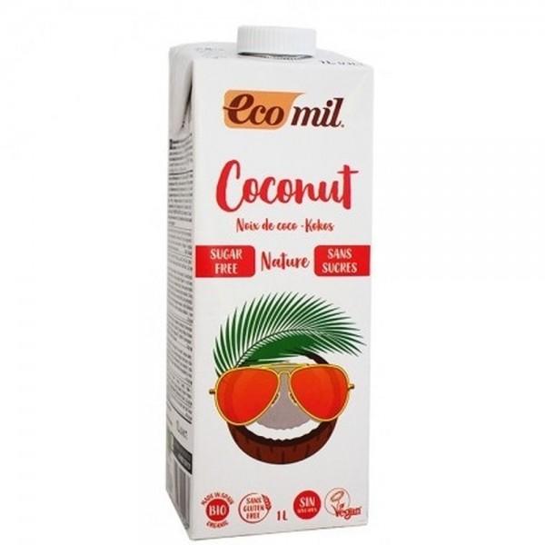 Γάλα Καρύδας Φυσικό ΒΙΟ 1lt Ροφήματα Βιολογικά Προϊόντα - biovlastos.gr