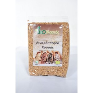 Λιναρόσπορος Χρυσός BIO 250γρ Σπόροι Βιολογικά Προϊόντα - biovlastos.gr