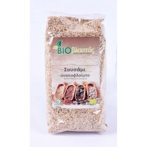 Σουσάμι Αναποφλοίωτο BIO 400γρ Σπόροι Βιολογικά Προϊόντα - biovlastos.gr