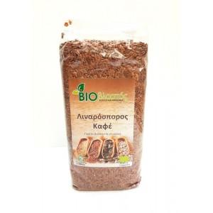 Λιναρόσπορος Καφέ BIO 500γρ Σπόροι Βιολογικά Προϊόντα - biovlastos.gr