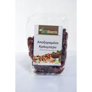 Κράνμπερυ απoξηραμένο ΒΙΟ 150γρ Ξηρά Φρούτα Βιολογικά Προϊόντα - biovlastos.gr