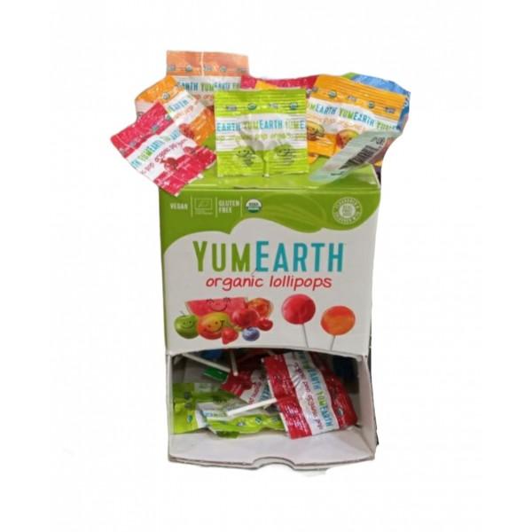 Γλειφιτζούρια φρούτων χύμα ΒΙΟ (100 ΤΕΜ) Ζάχαρη - Γλυκαντικά Βιολογικά Προϊόντα - biovlastos.gr