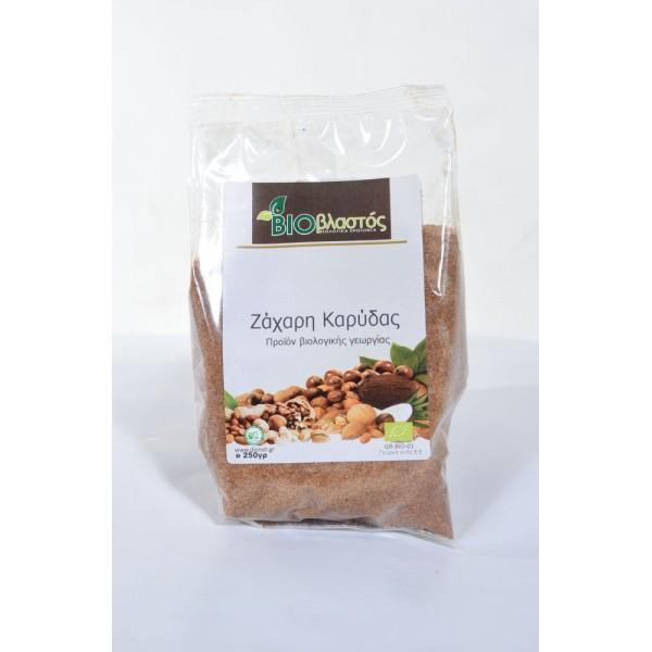 Ζάχαρη Καρύδας ΒΙΟ 250γρ Ζάχαρη - Γλυκαντικά Βιολογικά Προϊόντα - biovlastos.gr