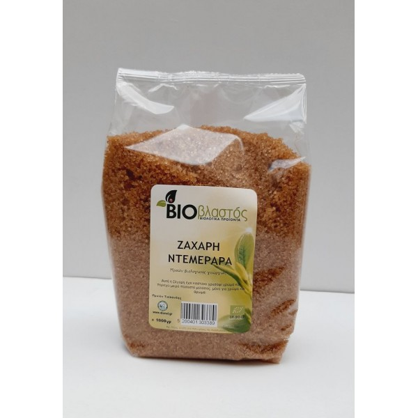 Ζάχαρη Demerara ΒΙΟ 1000γρ Ζάχαρη - Γλυκαντικά Βιολογικά Προϊόντα - biovlastos.gr