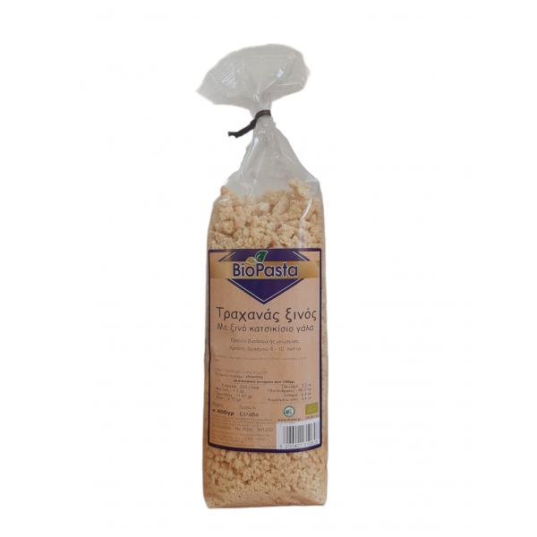 Τραχανάς ξινός απο κατσικίσιο γάλα ΒΙΟ 400γρ Ζυμαρικά Βιολογικά Προϊόντα - biovlastos.gr
